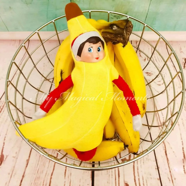Elf on the Shelf Banana Costume