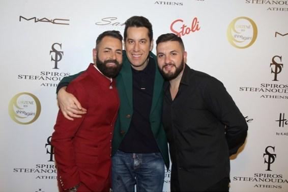 Λαμπερό fashion show του σχεδιαστή Spiros Stefanoudakis (Εικόνες)