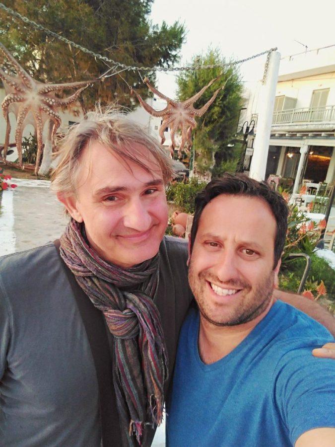 Άκης Σακελλαρίου:  Πρωτομαγιά στην όμορφη Κύθνο