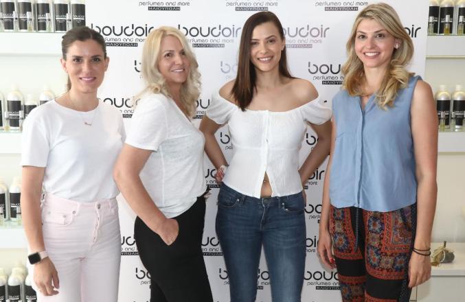 Η Λάουρα Νάργες είναι η νέα Beauty Lover της εταιρείας Boudoir Perfumes by Anastazia