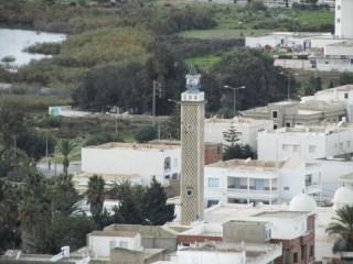 Minaret, Kelibia, Tunisie