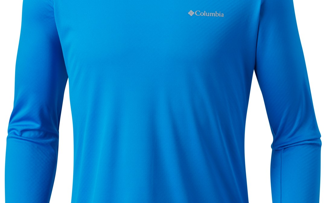 Camiseta manga longa Columbia