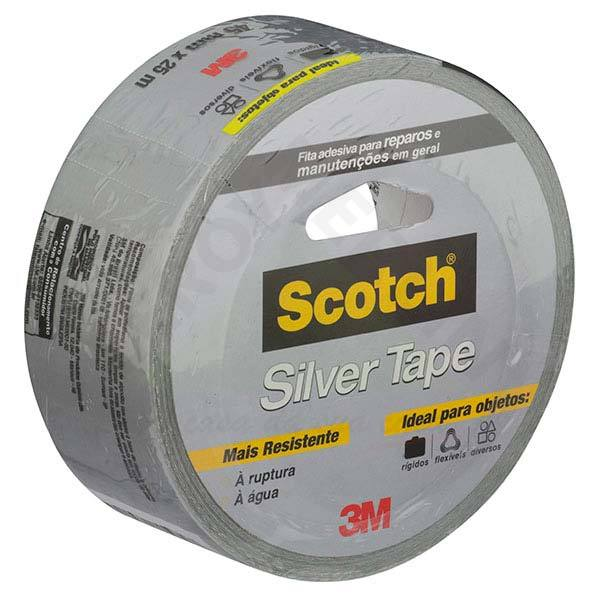 Fita adesiva silver tape