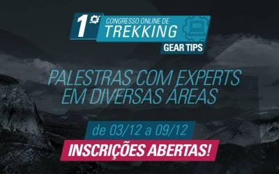 25 grandes especialistas em Trekking no 1º Congresso OnLine 03 a 9/Dez!