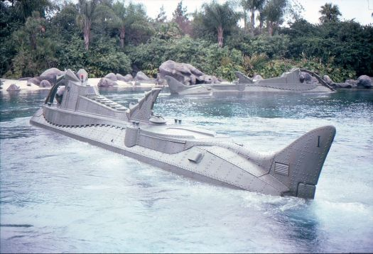 20,000 Leagues Under the Sea attraction at Walt Disney World, Bay Lake, Florida, circa 1979. Photo by Alex Reinhart