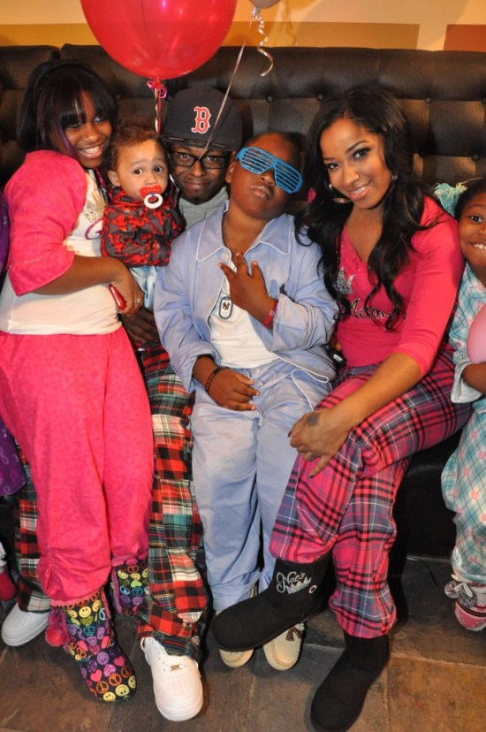 reginae pajama jam and family