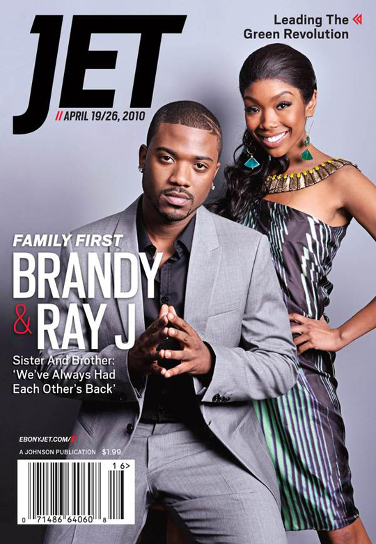 Ray J & Brandy Jet Magazine