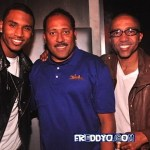 Frank Ski Trey Songz & Kevin Liles Party It Up