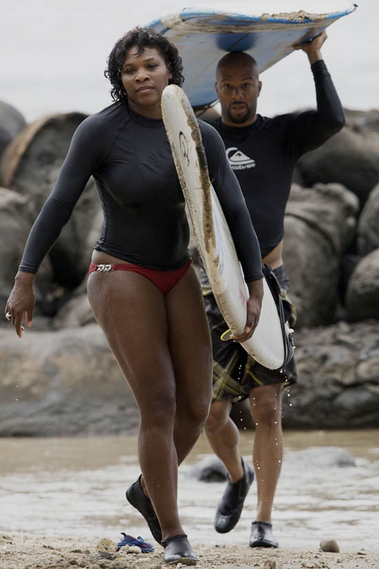 serena williams and common married