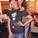 Monica & Trey Songz Concert Pic's
