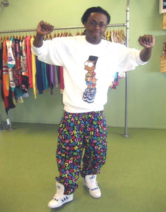 Lil Wayne Shows Us How Black People Will Be Dressing 3 Months From