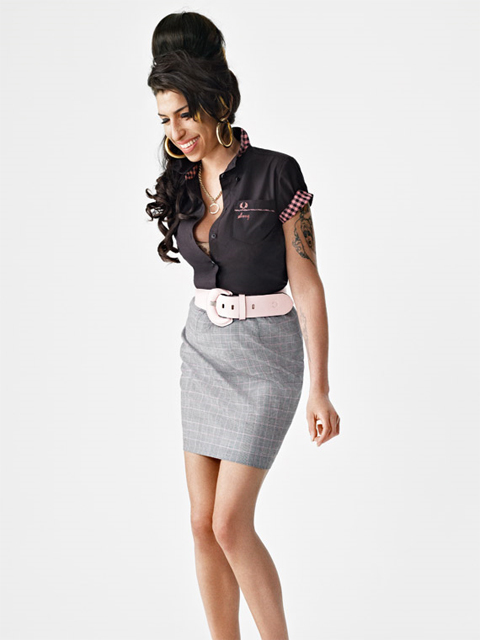 The Late Amy Winehouse Will Have A Clothing Line For Fred Perry Collection Released This Statement On Their Website