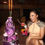 Ashanti Celebrates Her 31st Birthday With Family & Friends