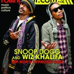 Snoop Dogg and Wiz Khalifa Cover Rolling Out Magazine
