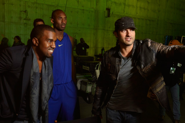 half off 99da5 47a7b Watch Kobe Bryant s New Commercial with Kanye West