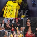 Kobe Bryant Caught Kissing Ex-Wife Vanessa Bryant