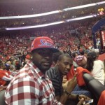 Philadelphia Eagles #Rookies Vinny Curry and Brandon Boykin Enjoy the Good Life @ Philadelphia 76ers Game