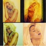 Rihanna Takes It Off And Goes Blonde For Photo Shoot