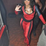 Braxton Family Values Star : Trina Braxton Performance At Esso Night Club
