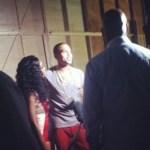 "PHOTOS : Brandy & Chris Brown Shoot ""Put It Down"" Video"