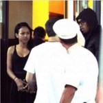 Chris Brown & Karrueche Spotted on Trip in Cannes, France : Rihanna & Chris Party Together?