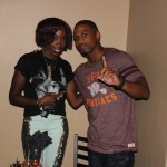 "VH1 Love and Hip Hop's Stevie J and Singer ""Estelle"" Attend Grey Goose Cherry Noir Private Dinner Hosted by Jason Geter"