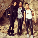 Photos: Basketball Wives Star Draya Backpacks In Rome