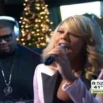 Video: Tamar Braxton Performs 'Love And War' On Good Morning America