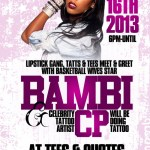 Event: Basketball Wives Bambi Meet & Greet @TeesAndQuotes