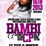 Event: Basketball Wives Bambi Meet & Greet @TeesAndQuotes