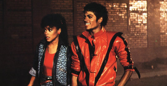 The Girl In The Thriller Video