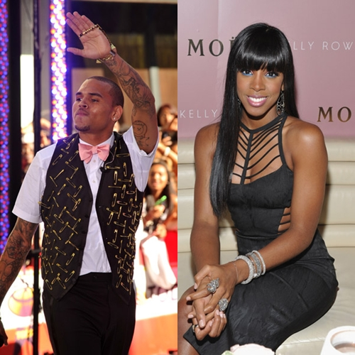 Chris brown dating kelly rowland