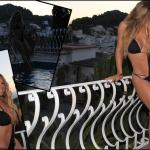 Mariah Carey Bikini Pics from Forthcoming Miguel Video