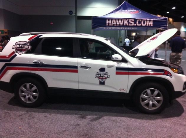v-103-waok-car-and-bike-show-10th-anniversary-hawks-fan-force-freddy-o