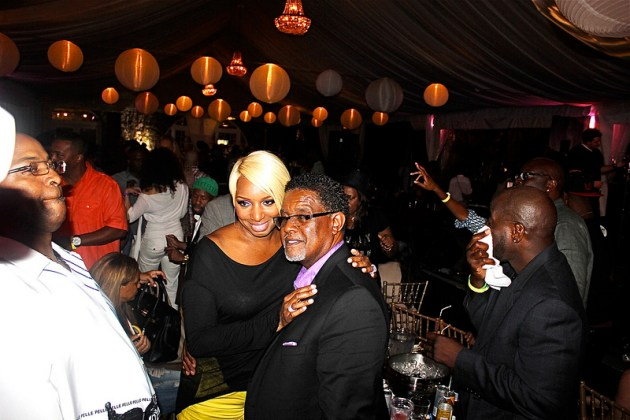 Nene And Greg Leakes Celebrate Gregs Birthday With R Kelly Teddy Riley Christopher Williams More In Atlanta