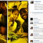 Awwwww! Lebron James Dedicates Instagram Post To New Wife