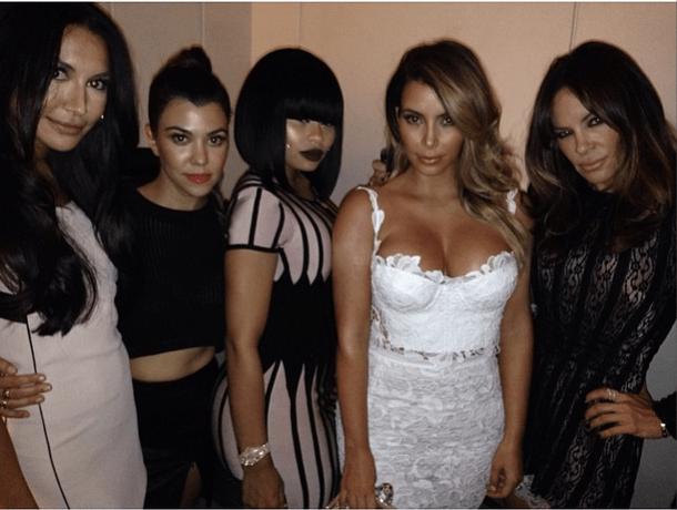 Kim and friends Vegas