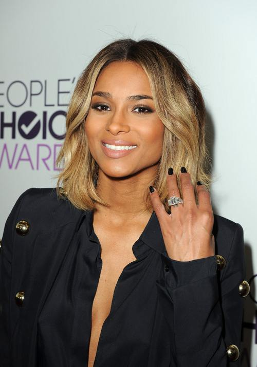 Ciara Shows Off Wedding Ring At Peoples Choice Awards FreddyOcom