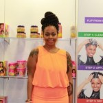 PHOTOS: Chrisette Michele Takes Over the Beautiful Textures Booth at the World Natural Hair Show!