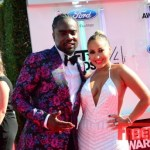 PHOTOS: @Wale @Adrienne_Bailon Having FUN on the #BETAwards Red Carpet!