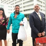 EXCLUSIVE PHOTOS: Stevie J and Joseline Spotted Outside of Atlanta Courthouse After Posting Bail!