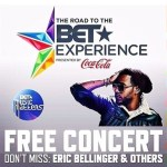 #BETExperience Free Concert with @EricBellinger @Sevyn Streeter @IAmRicoLove @MackWilds @KarinaPasian!