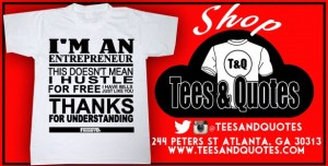 tees and quotes ad