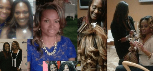 StylesbyChar Charmagne Grant hairdresser for Dr Heavenly season 2 Married to Medicine