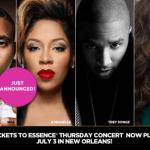 Nas, K Michelle, Trey Songz, and Jazmine Sullivan to Kick Off 20th Annual Essence Festival!