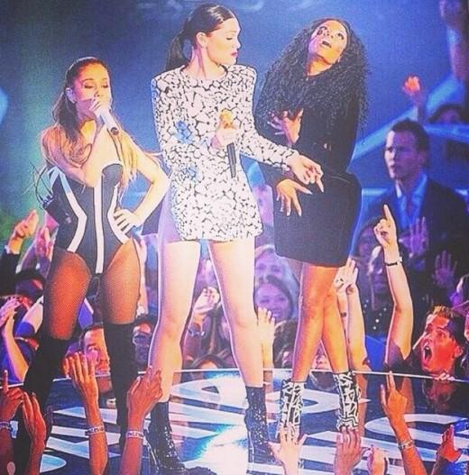 Nicki Minaj's Wardrobe Malfunction