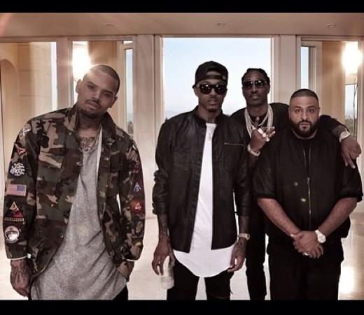 Chris Brown, August Alsina, Future, & DJ Khaled