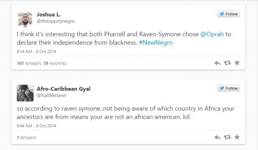 Black Twitter Comes for Rayven-Symone