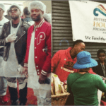 Producer Bangladesh, Columbus Short, Nikko and Young King Tutt Feed The Hungry on X-mas