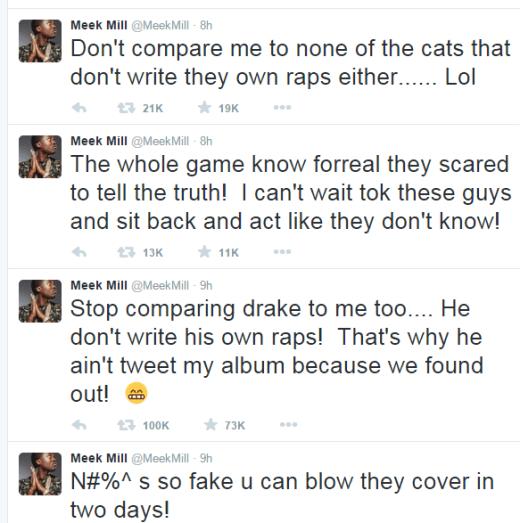 Meek Drake Tweets 4